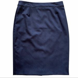 Boss Hugo Boss Black/Grey Pencil Skirt Sz 4